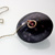 Anke Humpert - Black rice grain pendant